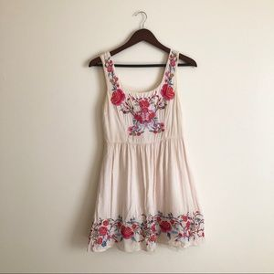 Embroidered ModCloth Dress